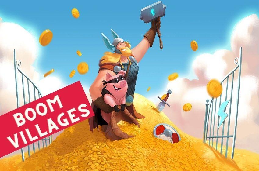 Coin Master Boom Villages