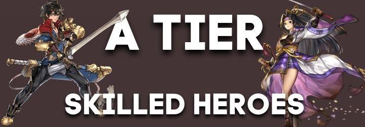 A tier heroes