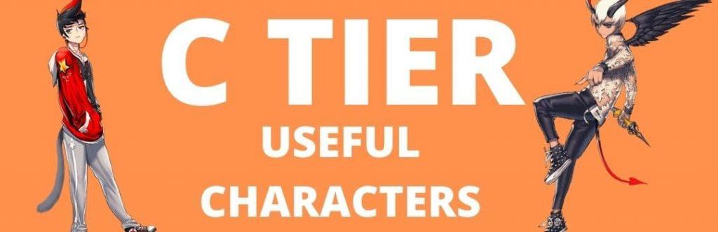 C Tier - Useful Characters