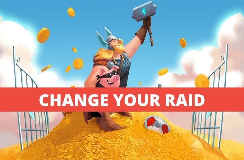 Change raid in Coin Master