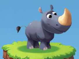 Coin Master Rhino Pet