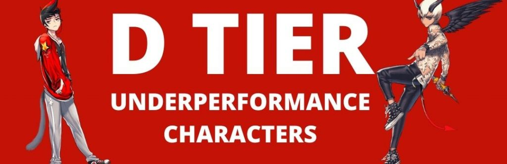 F Tier - Worst Characters in the game