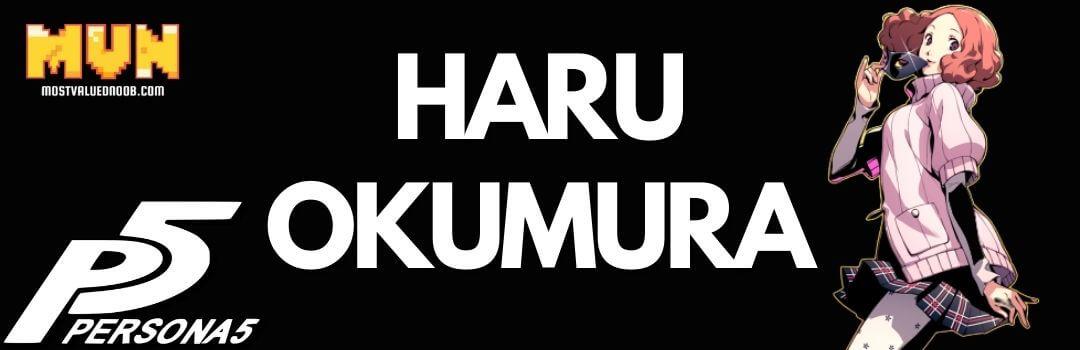 Haru Okumura - Persona 5